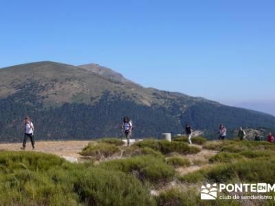 Travesía por la Sierra de la Maliciosa - Senderismo Madrid; campamentos de niños